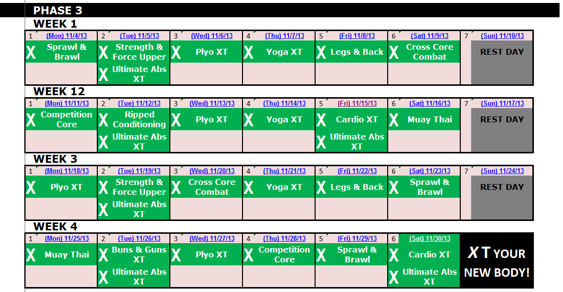 excel spreadsheet workout calendar  u0026 exercise tracker tool
